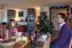 Julgröt (jpergunnar) Tags: cassandra jonathan family christmas holiday peoplefamily
