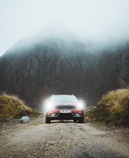 Moody dirt road