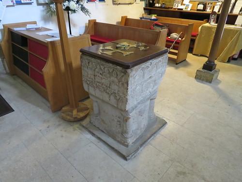 St Nicholas , Worth, Surrey