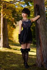 Fall color (HarQ Photography) Tags: fujifilm fujifilmxseries xt2 xf56mmf12r portrait autumn fall japan godox tt685f x1tf