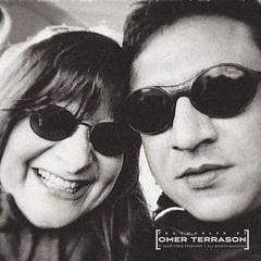 Wife and I - 8 (oterrason) Tags: wife woman self selfie blackandwhite monochromatic monochrome travel washington county sanjuan islands archipelago sunglasses husband iphone