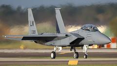 91-0309/LN  F-15E EAGLE USAF (MANX NORTON) Tags: f22 raptor f35 lightning f15 eagle f16 falcon raf lakenheath usaf 910309ln f15e