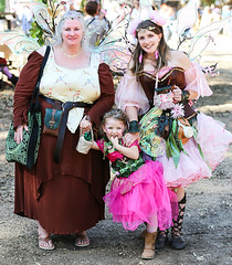 Three Generations (wyojones) Tags: texas texasrenaissancefestival toddmission texasrenfest renfest renfaire renaissancefaire faire renaissancefestival festival trf beauty girl woman fairy beautiful pretty lovely gorgeous cute brunette blueeyes grandmother mother daughter littlefairy wings