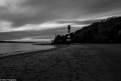 Evening mood (vmonk65) Tags: elbe fluss himmel leuchtturm nikon nikond810 river sky sonnenuntergang wasser wittenbergen clouds water hamburg beach sand strand bucht lighthouse wolken