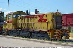 GCSX1191GB_GraniteCityIL_270718 (Catcliffe Demon) Tags: railways railroading usa steelmill uss gcsx sw1200 switcher emd diesellocomotive unitedstatessteelcorp granitecityworks usatrip11jul2018 illinois rosters