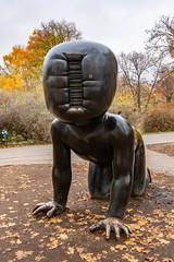 Crawling Babies (Bob the Binman) Tags: praha prague czechia czechrepublic city nikon d7100 crawlingbabies davidčerný sculpture kampapark
