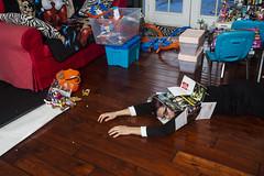 Failed Reenactment (evaxebra) Tags: wh wah failed reenactment tribute box messy small mess legos hot wheels mickster