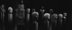 Hall Of Heads (AAcerbo) Tags: kunsthistorischesmuseum vienna austria bust head statue art sculpture stone bw
