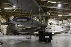 CF-BXO Supermarine Stranraer  RAF Hendon 16-12-18 (MarkP51) Tags: cfbxo 920 supermarine stranraer rafmuseum hendon london england preserved military ww2 warbird aircraft airplane plane image markp51 nikon d7100 d7200 nikon24120f4vr