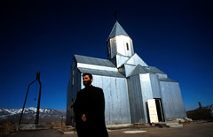 The Silver Church (Edmond Terakopian) Tags: earthquake 30yearsafterspitak armenia survive tragedy tragic armenianearthquake church christianity religion priest prayer god christian architecture spitak