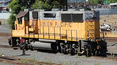 UP 1214 The Dalles OR 1 Sep 14 (AA654) Tags: the dalles or oregon railroad union pacific columbia river up loco locomotive diesel emd gp392