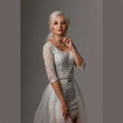 Kate (Aleksey Panteleev) Tags: wedding bride beautiful beauty blonde cyclorama celebration cute ceremony caucasian clean white wife