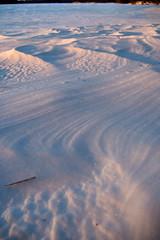 Snow Patterns (Northern Wolf Photography) Tags: 14mm em5 frozen ice lake nature olympus pond snow sunset winter stoneham massachusetts unitedstates us