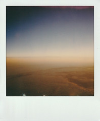 Cream Sky (Moesko Photography) Tags: analogue polaroid polaroid600 sky clouds evening sunset nature aerial ambient