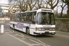 282. JDG 282V: Wessex Coaches, Bristol (chucklebuster) Tags: jdg282v wessex coaches national travel south west bristol leyland leopard duple dominant