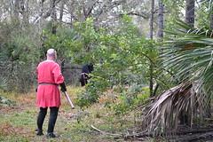EEF_7679 (efusco) Tags: boar medieval spear brambleschoolearteofthehunt bramble schoole military arts academy florida ferel hog pig