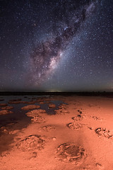 Lake Thetis Milky Way - Cervantes, Western Australia (inefekt69) Tags: milky way lake thetis cervantes stromatolites stars night sky cosmos cosmology astrophotography astronomy landscapeastrophotography space galaxy water reflections outback westernaustralia nikon d5500 13mm longexposure nightphotography