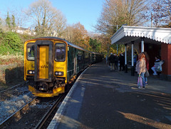 150202 Calstock (2) (Marky7890) Tags: gwr 150202 class150 sprinter 2p87 calstock railway cornwall tamarvalleyline train
