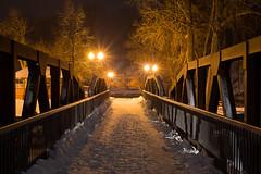 Grand Ledge Winter-3773.jpg (bryanstewartcreative) Tags: bryanstewartcreative winter snow winterwonderland grandledge michigan puremichigan naturalmichigan thegreatlakesstate michiganders michiganawesome awesomemitten mittenmichigan nikon nikond750 d750 bridge gazebo lights orange vibrant night nightphotogaphy nature michigantowns naturephotography nightphotography walk walkingtrail visitmichigan christmas holidays