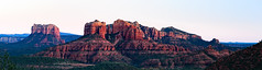 Cathedral Rock, Sedona, Panorama (StevenTze) Tags: 2018 roadtrip sedona cathedral rock arizona sunset golden hour panorama coconino sandstone bluff