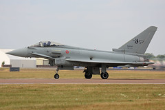 MM7343 (36-52) Eurofighter EF2000 Typhoon Italian Air Force RIAT RAF Fairford 13th July 2018 (michael_hibbins) Tags: mm7343 3652 eurofighter ef2000 typhoon italian air force riat raf fairford 13th july 2018 italy euro european europe aeroplane aircraft aviation aerospace airplane aero airshow airfields military defence strategic fighter bomber multiengined multirole afterburner afterburners jet jets