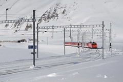 MGB - Oberalppass (Kecko) Tags: 2018 kecko switzerland swiss schweiz suisse svizzera innerschweiz zentralschweiz uri oberalp pass oberalppass matterhorngotthardbahn railway railroad mgb eisenbahn bahn bahnhof station train zug winter schnee snow swissphoto geotagged geo:lat=46660960 geo:lon=8670190
