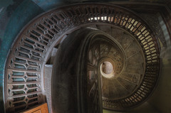 The swirl. (Robin Decay) Tags: chateau social stairs spiral