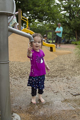(louisa_catlover) Tags: portrait family child toddler daughter tabitha tabby park playground outdoor water wet