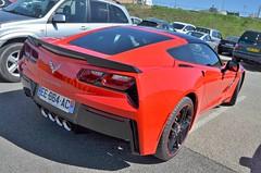 Chevrolet Corvette C7 Sting Ray (benoits15) Tags: chevrolet corvette c7 stingray american car supercar red ledenon tour auto