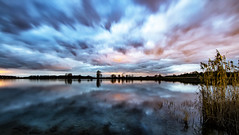 Exciting skies (Oudje1955) Tags: excited exciting skies clouds longexposure cloudscape blue cloudy cloud nature landscape naturepics naturephotograph natural light world water reflections reflection sunset schalk canon canon70d canon1022mm