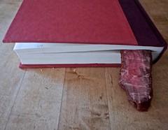 The Bookmark (ricko) Tags: book bookmark meat steak flatironsteak werehere 02365 2019 beef food