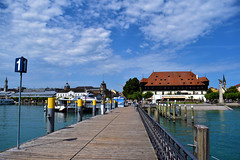 Pier Konstanz (nateshmlore) Tags: pier jetty konstanz germany lake konzilgebäude lakeside