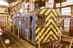 BRITISH RAIL 09001 (bobbyblack51) Tags: british railways class 09 english electric 060 diesel shunter 09001 cardiff canton depot 1993