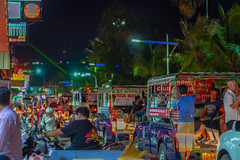 Beach road at night, Pattaya, Thailand (CamelKW) Tags: beachroad night pattaya thailand