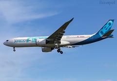 F-WTTN Airbus A330 Neo (@Eurospot) Tags: fwttn airbus a330 neo a330900 1795 toulouse blagnac