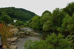 The River Dee (Eddie Crutchley) Tags: europe uk wales llangollen outdoor river nature riverdee trees water beauty simplysuperb