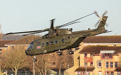 Royal Navy EH101 Merlin HC3a ZJ998 (Neil D. Brant) Tags: agustawestlandeh101merlinhc3a zj998 yeovilton somerset england gb
