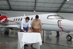 Entrega de Aeronave