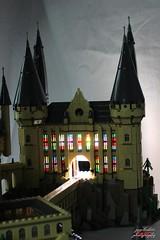 Lego Hogwarts 3 (psychosteve-2) Tags: hogwarts castle harry potter lego bricks architecture tower building