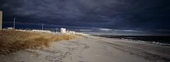 Dark and Sunny| Rockaway Beach, NY, 2019 (mwilli214) Tags: xpan kodak madewithkodak ektachrome 100d 35mm shootitwithfilm filmphotographic filmshooterscollective beliveinfilm kodaklosers fujitx1