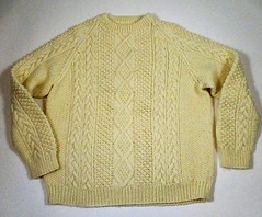(Mytwist) Tags: donegal irish sweater classic fisherman ireland cabled vintage bulky style fashion retro timeless handcraft craft heritage passion old laine killarney inishmore dublin velour modern aran fair gift heavy jersey knitted love mytwist neck vouge crewneck aranstyle cozy aranjumper aransweater authentic euc ivory pattern stitch itchie itch itchy virgin vtg mens cable knit chunky cream pullover donnaroseresale tacoma dc washington us united states usa camper casual weekend