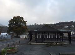 Seasonal Steamer Quay (Phil Gayton) Tags: road building tree sky cloud riverside cafe oak quercusrobur steamer quay totnes devon uk