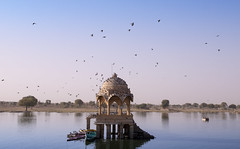 Gadisar Lake (irrfanazam) Tags: gadisar lake jaisalmer rajasthan photography view wate monument gadi sagar landscape nature morning day destination travel landmark history tourism place sights stone
