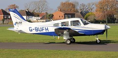 Piper PA-28-161 Warrior II G-BUFH Lee on Solent Airfield 2018 (SupaSmokey) Tags: piper pa28161 warrior ii gbufh lee solent airfield 2018