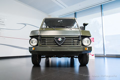 Alfa-Romeo AR 148 Military Concept - 1986 (Perico001) Tags: ar148 military 33 4x4 4wd awd allrad allwheeldrive allterrain offroad cabriolet convertible decapotable dhc cabrio dropheadcoupé auto automobil automobile automobiles car voiture vehicle véhicule wagen pkw automotive nikon df 2018 ausstellung exhibition exposition expo verkehrausstellung carshow musée museum automuseum trafficmuseum verkehrsmuseum muséeautomobile museo alfaromeo milano torino anonimalombardafabbricaautomobili italië italy italia museostorico arese oldtimer classic klassiker 1986