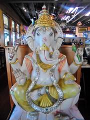 Ganesha (Arl3ne) Tags: ganesha statue lotuscafe encinitas