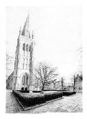St James Church, Ypres, Belgium