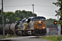 Elephant-Style (csx7661) Tags: train railroad railfan railroadphotography nikon locomotive freight trains deshler ohio cincinnati railroading trees summer explore