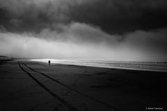 Ausente (AvideCai) Tags: avidecai bn blancoynegro tamron2470 paisaje playa cielo nubes absoluteblackandwhite
