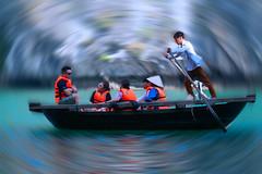 Ha Long Bay Adventure (pallab seth) Tags: people portrait boatman hạlongbay vịnhhạlong vietnam việtnam quangninh towerkarst limestonepillars islands islets marine nature landscape scenic tour travel boat